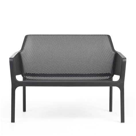net bench net bench polypropylene bench stackable with cushion