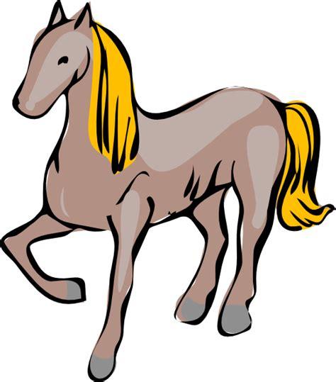 clipart cavallo clip at clker vector clip