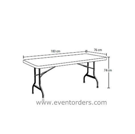 trestle table white 6ft 1830mm 171 event orders