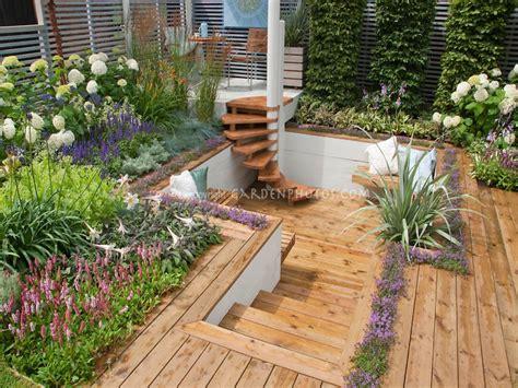 Decked Garden Ideas Sunken Patio Designs Sunken Deck Deck Levels Mexzhouse