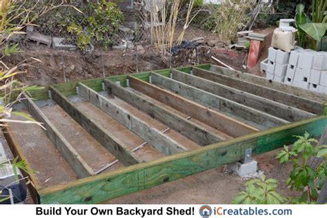 build  shed build shed foundation