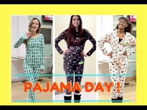 hairstyles for pajama party pajama day at school youtube