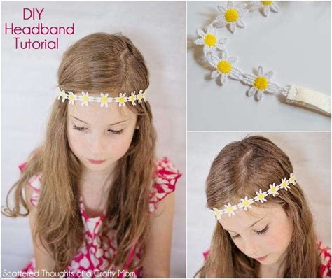 Handmade Headband Ideas - 10 lovely diy headband ideas for your