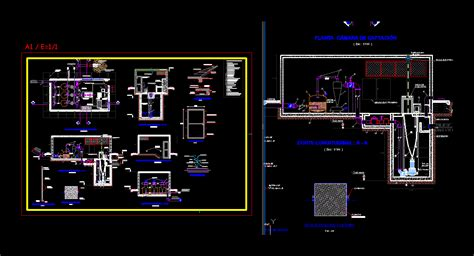 uptake bed sewage dwg detail  autocad designs cad