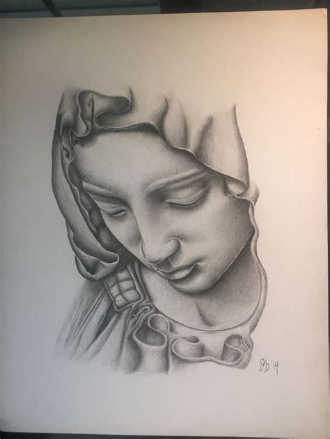 imagenes religiosas hechas a lapiz virgin mary done in acrylic pencil drawing ideas