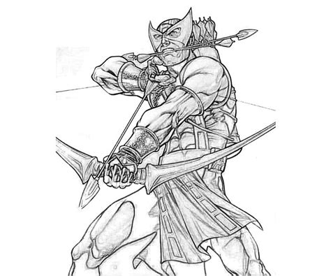 lego hawkeye coloring page hawkeye hero free coloring pages