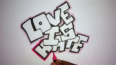 simple graffiti drawing youtube