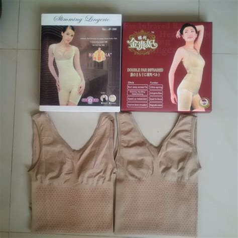 Korset Pelangsing Monalisa gift natal murah slimming suit jaco infra merah pelangsing shapper