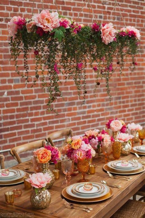 addobbo tavola matrimonio con peonie 5 idee per creare un atmosfera