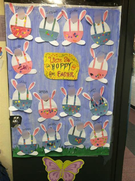 Easter Classroom Decorations by Classroom Door Decoration For Easter For Class