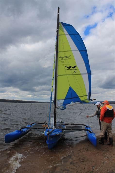 trimaran sailboat windrider 17 trimaran