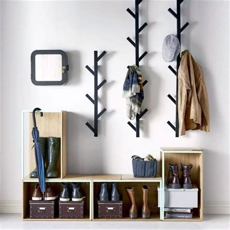 ikea coat rack wall 25 best ideas about diy coat rack on diy coat