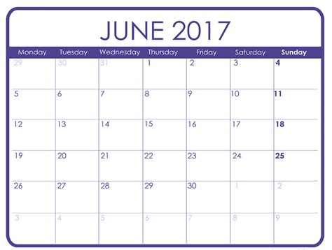 calendar templates to print june 2017 printable calendar templates free printable