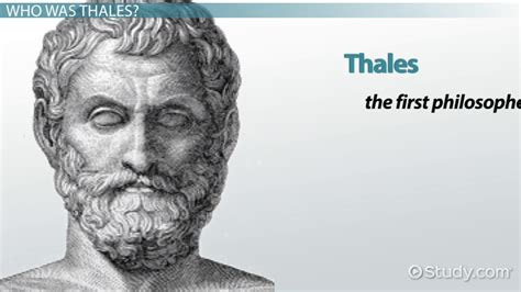 Job Resume Online by Thales The Philosopher Theory Amp Contributions To Philosophy Video Amp Lesson Transcript Study Com
