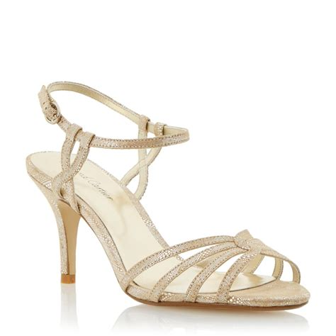 gold strappy mid heel sandals gold strappy sandals heels is heel