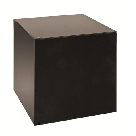 Over Toilet Bathroom Cabinets - kubus end table square shape in black glass 23978 furniture