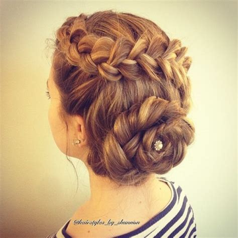 updo hair ideas for long hair for 40 year old 40 most delightful prom updos for long hair in 2018