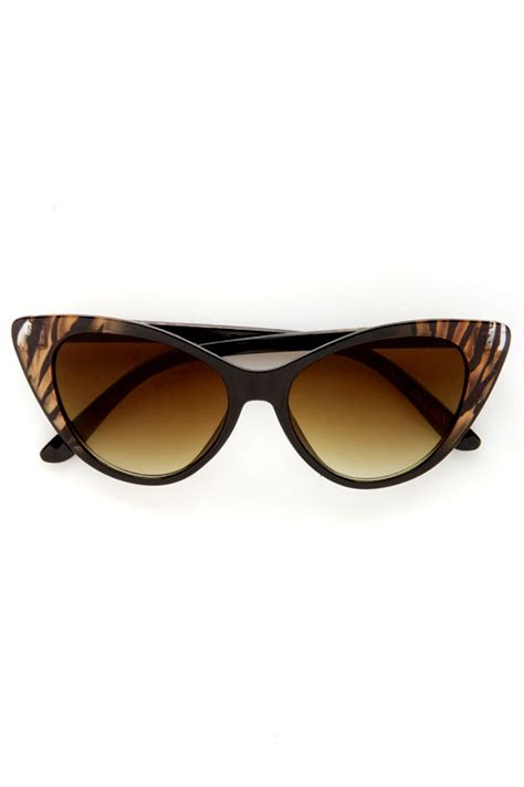 10 Cutest Sunglasses For by Cat Eye Sunglasses Brown Sunglasses 10 00