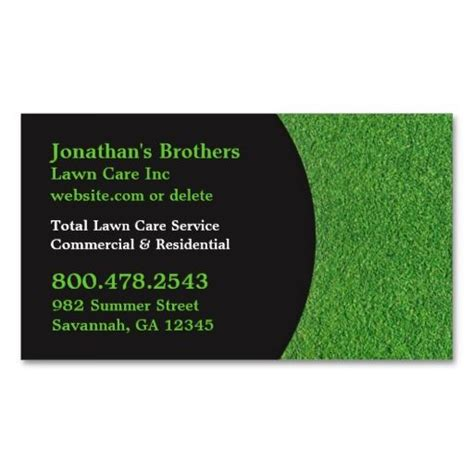 gardening business cards templates 1000 images about landscaping business cards on