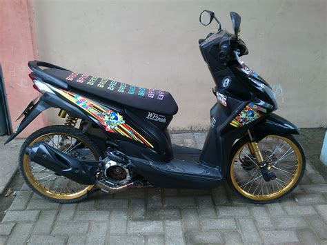 Keranjang Thailook Beat Fi modifikasi motor beat thailook 10 modifikasi motor terbaru