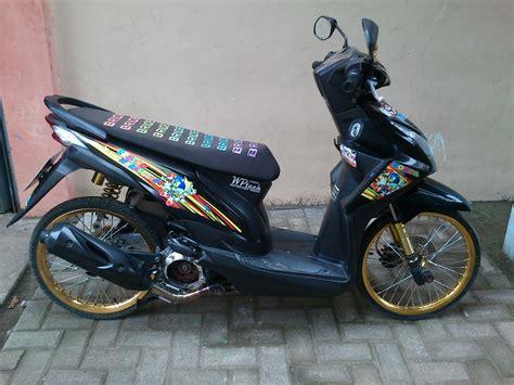 modifikasi thai look modifikasi motor beat thailook 10 modifikasi motor terbaru