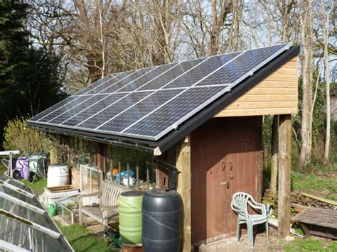 Solar Panel For Shed by Installing Solar Panels On Your Shed