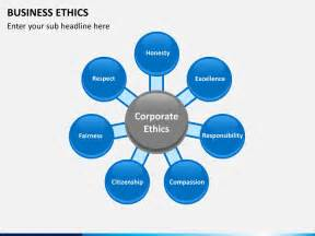 Ethics Template by Business Ethics Powerpoint Template Sketchbubble