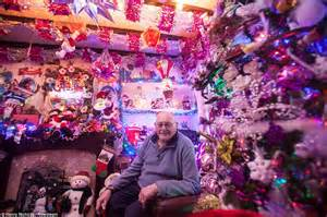 Christmas Decorations Inside The House grieving pensioner turns house into a festive tribute to