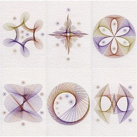 Circle Card Stitch Template by 1000 Ideas About Paper Embroidery On
