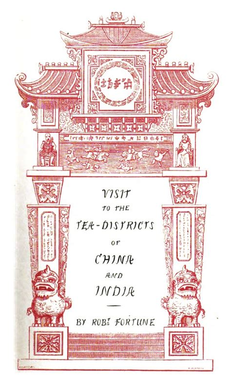 a journey to the tea countries of china books page