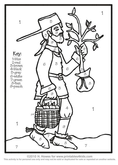 Free Printable Johnny Appleseed Coloring Pages Coloring Home Johnny Appleseed Coloring Page