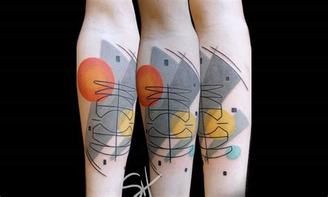 best geometric tattoo artists seattle tattooer inspired by modern painters scene360