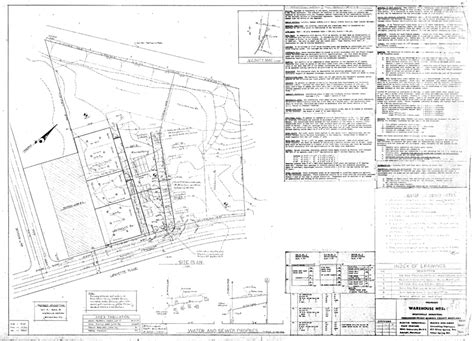 Plumbing General Notes by Martin Industrial Park Building 3a Drawings