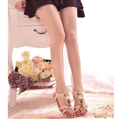 Selop Sandal Selop sandal selop wanita flat bohemian summer size 38 black