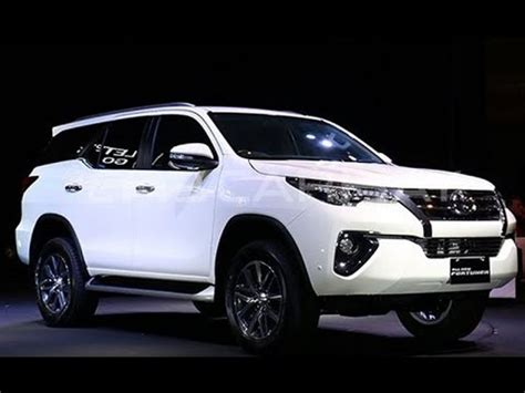 toyota new model 2016 all new toyota fortuner 2016 17 model exterior and