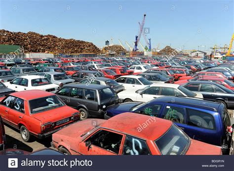 germany hamburg used cars await export to africa