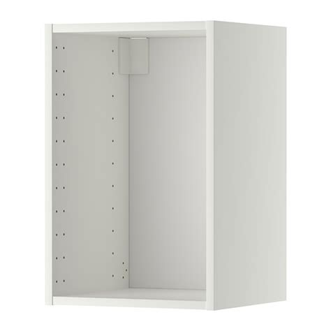 Ikea Wall Cabinets Kitchen Metod Wall Cabinet Frame White 40x37x60 Cm Ikea