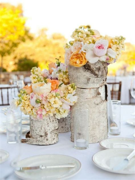 Unique Vases For Centerpieces by Tree Stump Vases The Unique Addition Decozilla