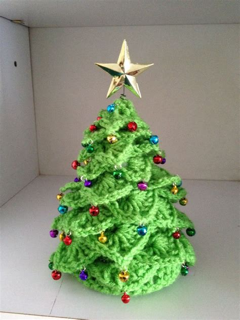 crocheted christmas tree crochet for x mas pinterest
