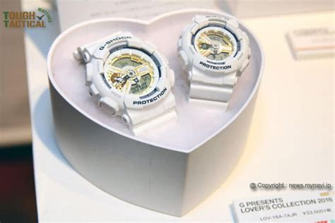 Casio G Shock Lov 16a 7adr 7 matching watches to wear on valentine s day and