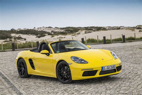 Porsche Boxster 1 by 2017 Porsche 718 Boxster Review Gtspirit