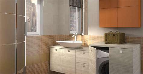 bagno con lavatrice come arredare un bagno con lavatrice