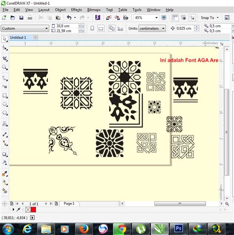 download pattern corel how to make arabesque vector on corel draw apparel and