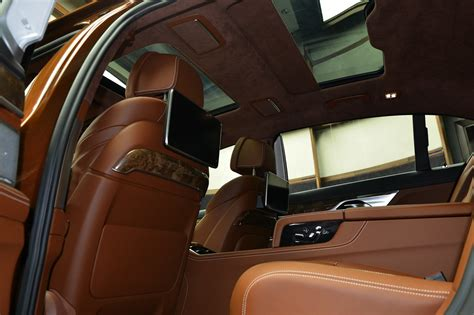 bmw 740m alpina b7 individual certainly looks different in chestnut