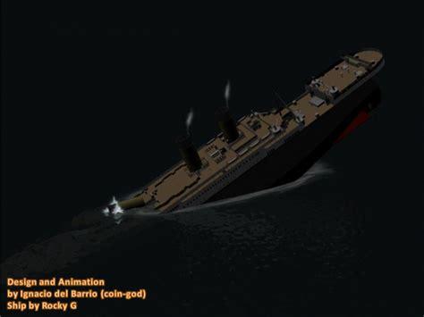 Titanic Sinking Animation titanic sinking animation image coin god mod db