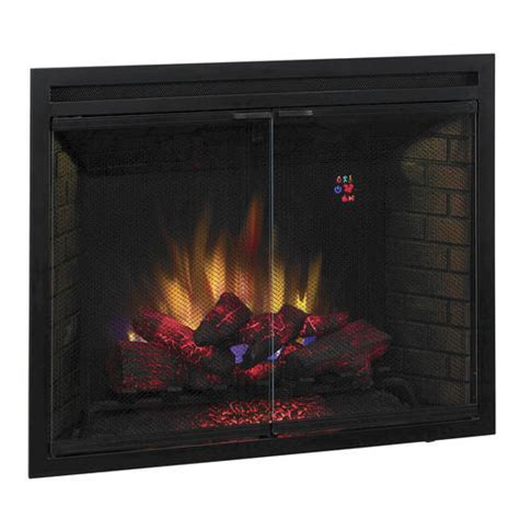39 quot electric built in fireplace insert at menards 174