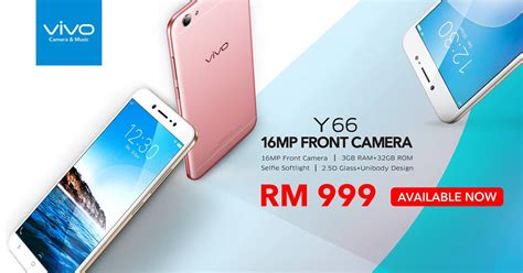 Handphone Vivo V5 Malaysia vivo y66 launched in malaysia with rm 999 price tag