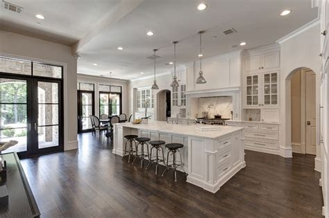 open concept layout love the dining nook would be gorgeous all white kitchen with marble countertops and