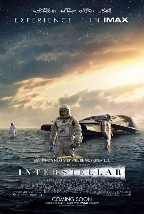 affiche du film interstellar photo  sur  allocine