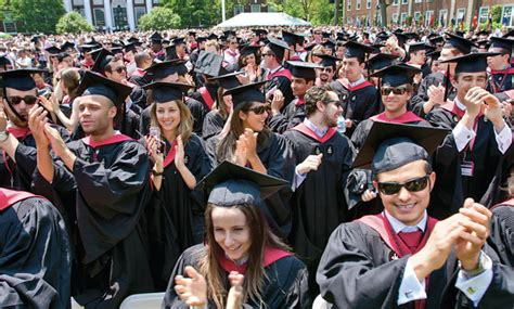 Hbs Mba Alumni Careers by Mba 101 Hbs Commencements Pass The Century Alumni